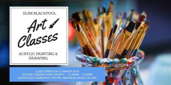 art classes at Elim Blackpool Community Centre