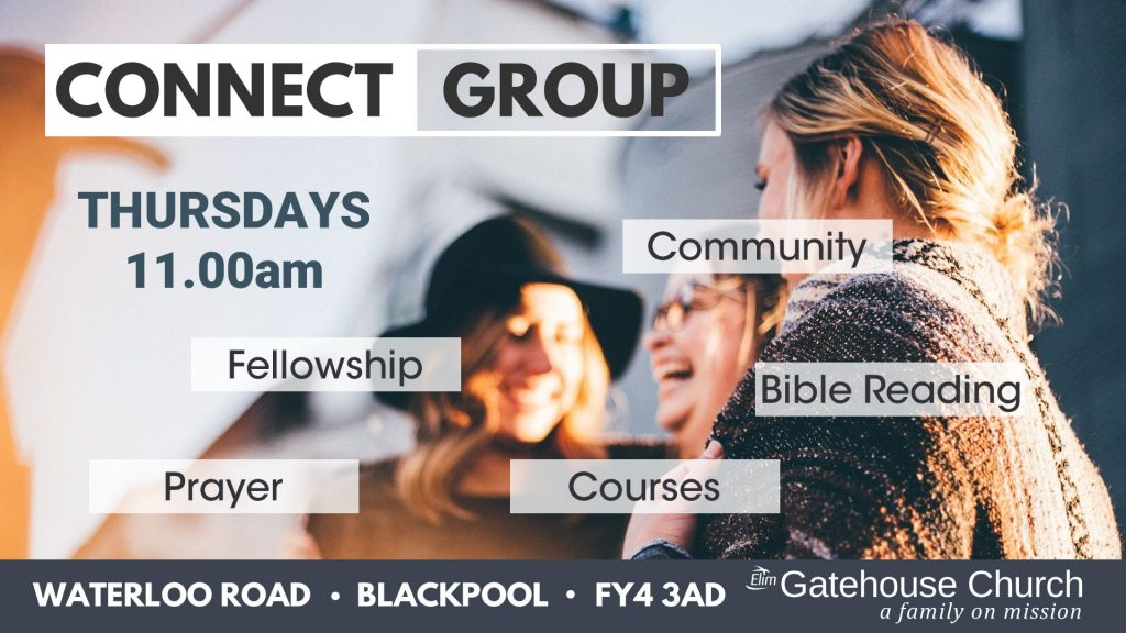 Thursday connect group at the Gatehouse