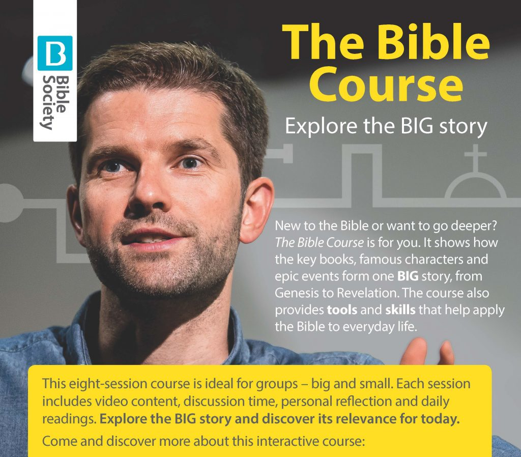 The Bible Course Explore the Big story