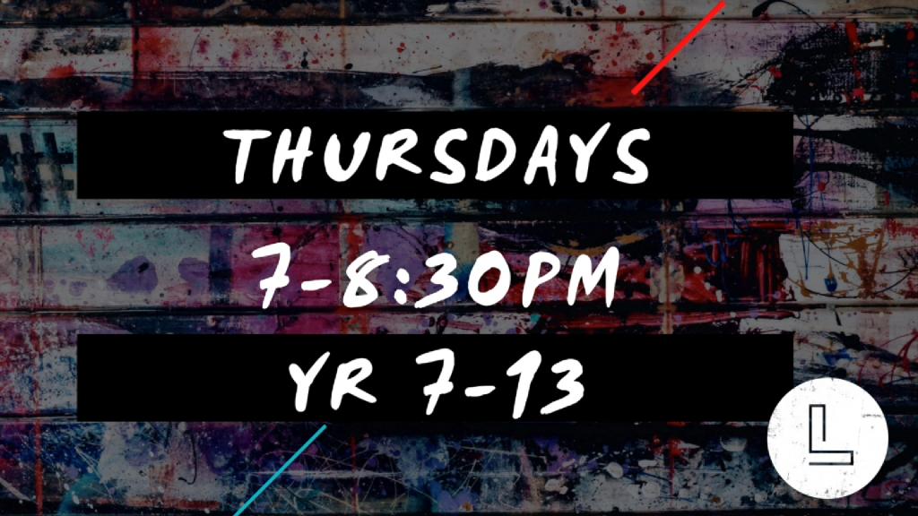 Limitless Thursdays 7-8.30pm
