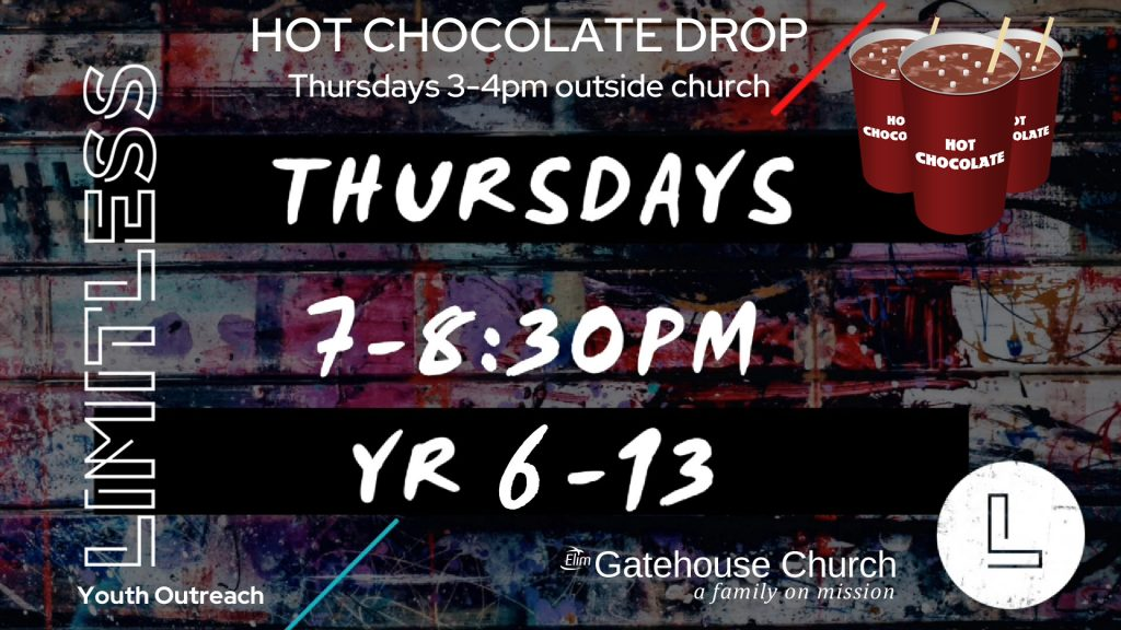 Limitless Youth Thurdays 7-8.30pm